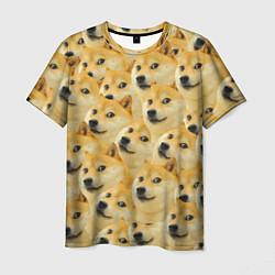 Мужская 3D-футболка с принтом Doge, цвет: 3D, артикул: 10069710503301 — фото 1