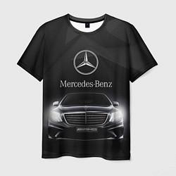 Футболка мужская Mercedes цвета 3D-принт — фото 1