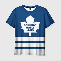 Футболка мужская Toronto Maple Leafs цвета 3D-принт — фото 1