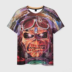 Футболка мужская Iron Maiden: Dead Rider цвета 3D-принт — фото 1