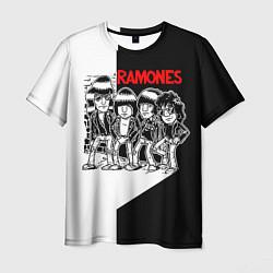 Футболка мужская Ramones Boys цвета 3D — фото 1