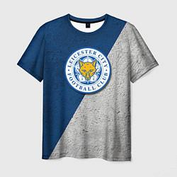 Футболка мужская Leicester City FC цвета 3D — фото 1