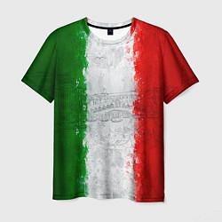 Футболка мужская Italian цвета 3D-принт — фото 1