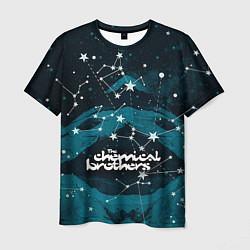 Футболка мужская Chemical Brothers: Space цвета 3D — фото 1