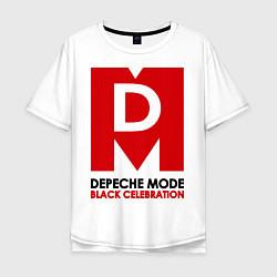 Футболка длинная мужская Depeche Mode: Black Celebration - фото 1