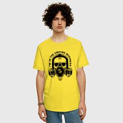 Футболка оверсайз мужская Breaking Bad цвета желтый — фото 2