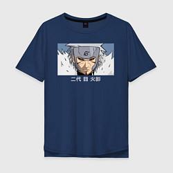 Мужская футболка оверсайз Суровый Второй Хокаге