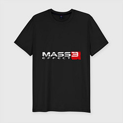 Футболка slim-fit Mass Effect 3 - фото 1