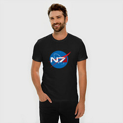 Футболка slim-fit NASA N7 - фото 2