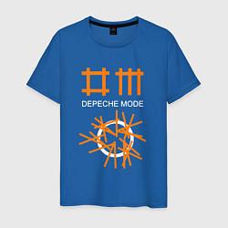 Футболка хлопковая мужская Depeche Mode: Orange Lines - фото 1
