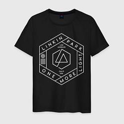 Футболка хлопковая мужская Linkin Park: One More Light цвета черный — фото 1