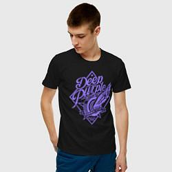Футболка хлопковая мужская Deep Purple: Highway Star цвета черный — фото 2