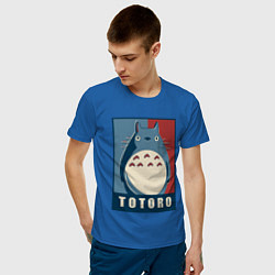 Футболка хлопковая мужская Totoro - фото 2