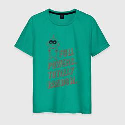 Футболка хлопковая мужская Jack-Jack Parr цвета зеленый — фото 1