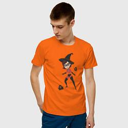 Футболка хлопковая мужская The Incredibles цвета оранжевый — фото 2