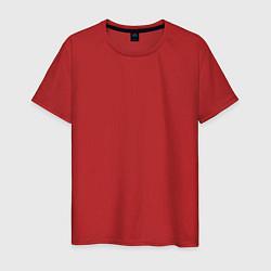 Футболка хлопковая мужская Волгоград EVLTN цвета красный — фото 1