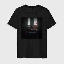 Футболка хлопковая мужская Скриптонит Чистый цвета черный — фото 1