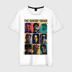 Футболка хлопковая мужская The Suicide Squad цвета белый — фото 1