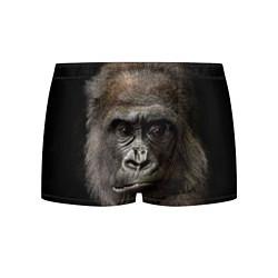 Трусы-боксеры мужские Глаза гориллы цвета 3D — фото 1