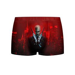 Трусы-боксеры мужские Hitman: Red Blood цвета 3D — фото 1