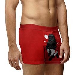 Трусы-боксеры мужские Panda Warrior цвета 3D — фото 2