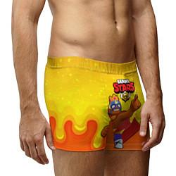 Мужские 3D-трусы боксеры с принтом Эль Примо brawl stars, цвет: 3D, артикул: 10209092703997 — фото 2