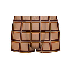 Трусы-боксеры мужские Шоколад цвета 3D — фото 1