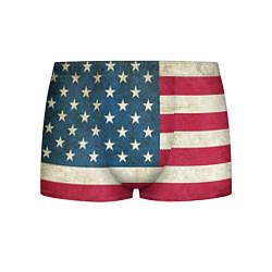 Трусы-боксеры мужские Флаг USA цвета 3D-принт — фото 1