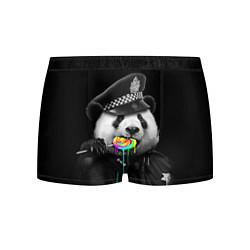 Мужские 3D-трусы боксеры с принтом Панда с карамелью, цвет: 3D, артикул: 10087533203997 — фото 1