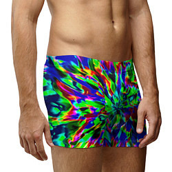 Трусы-боксеры мужские Оксид красок цвета 3D — фото 2