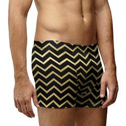 Трусы-боксеры мужские Узор цвета 3D-принт — фото 2