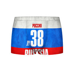 Трусы-боксеры мужские Russia: from 38 цвета 3D — фото 1