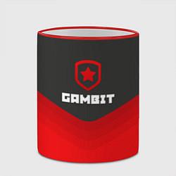 Кружка 3D Gambit Gaming Uniform цвета 3D-красный кант — фото 2