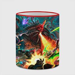 Кружка 3D HotS цвета 3D-красный кант — фото 2