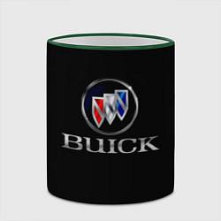 Кружка 3D Buick цвета 3D-зеленый кант — фото 2