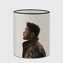 Кружка 3D The Weeknd цвета 3D-черный кант — фото 2