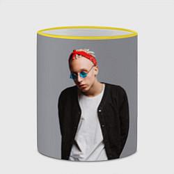 Кружка 3D T-Fest цвета 3D-желтый кант — фото 2