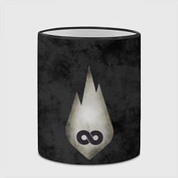 Кружка 3D Thousand Foot Krutch цвета 3D-черный кант — фото 2