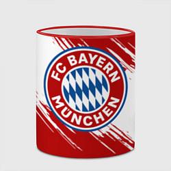 Кружка 3D ФК Бавария цвета 3D-красный кант — фото 2