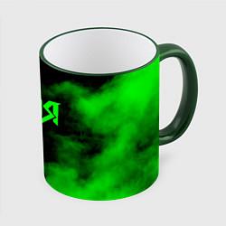 Кружка 3D Ария цвета 3D-зеленый кант — фото 1