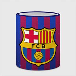 Кружка 3D Barcelona цвета 3D-синий кант — фото 2