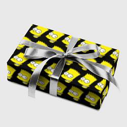 Бумага для упаковки Барт Симпсон: узор цвета 3D — фото 2