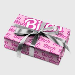 Бумага для упаковки Bitch Barbie цвета 3D — фото 2