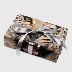 Бумага для упаковки Взгляд леопарда цвета 3D — фото 2