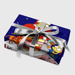 Бумага для упаковки Новый год у Симпоснов цвета 3D — фото 2