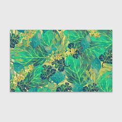 Бумага для упаковки Узор из листьев