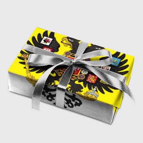 Бумага для упаковки Имперский Флаг / 3D – фото 2