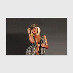 Бумага для упаковки Девушка в форме цвета 3D — фото 1