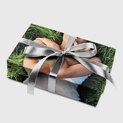 Бумага для упаковки Анджелина Джоли / 3D – фото 2