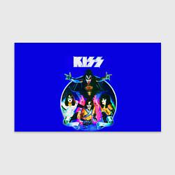Бумага для упаковки Kiss Show цвета 3D — фото 1